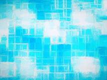 Horizontal cyan canvas texture element Royalty Free Stock Image