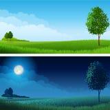 Horizontal d'été Photographie stock libre de droits