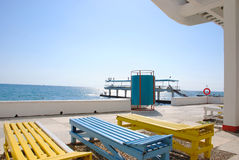 Horizontal d'été de Sotchi Photo stock