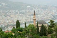 Horizontal d'Alanya, Turquie. Photographie stock