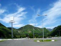 Horizontal d'Alpen Photo stock