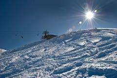 Horizontal d'Alpes Photos libres de droits