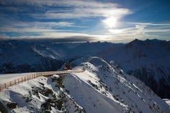 Horizontal d'Alpes Photo stock
