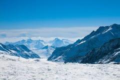 Horizontal d'Alpes Photographie stock