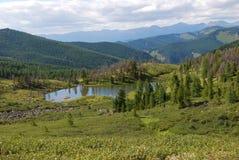 Horizontal d'Altai Images stock