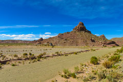 Horizontal d'Altiplano Images libres de droits