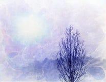 Horizontal d'arbre Image libre de droits