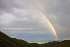 Horizontal d'arc-en-ciel Photo libre de droits