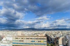 Horizontal d'Athènes photo stock