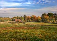 Horizontal d'automne photos stock