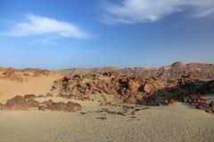 Horizontal d'EL Teide. Photos libres de droits
