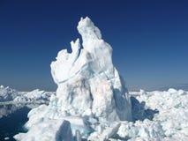 Horizontal d'iceberg Image libre de droits