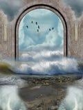 Horizontal d'imagination Photo libre de droits
