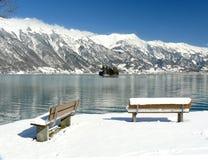 Horizontal d'Iseltwald Photo stock