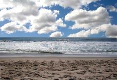 Horizontal d'océan images libres de droits