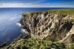 Horizontal d'océan de l'Islande Images libres de droits