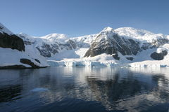 Horizontal dans Antartica image libre de droits