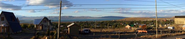Horizontal dans le patagonia - calafate d'EL Images libres de droits