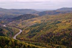 Horizontal dans le temps d'automne. images stock