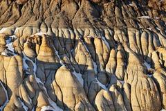 Horizontal de bad-lands Image libre de droits