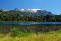 Horizontal de bariloche, Argentine Photo stock