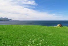 Horizontal de bord de la mer photo libre de droits