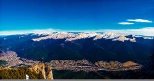 Horizontal de Busteni Photographie stock