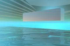 Horizontal de cadre de logo Photographie stock