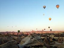 Horizontal de Cappadocia Photos libres de droits