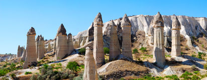 horizontal de cappadocia Images libres de droits