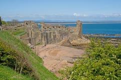 horizontal de château Photo libre de droits