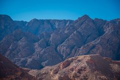 Horizontal de ciel bleu photographie stock libre de droits