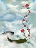 Horizontal de conte de fées Image libre de droits
