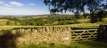 Horizontal de Cotswolds Photographie stock libre de droits