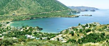 Horizontal de Crète photos libres de droits
