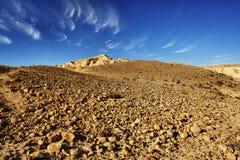 Horizontal de désert Images libres de droits