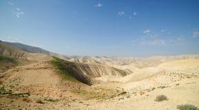 Horizontal de désert au printemps photos libres de droits