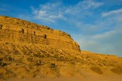 Horizontal de désert dans le patagonia Photographie stock