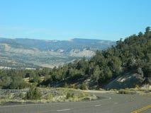 Horizontal de désert de l'Utah Photographie stock
