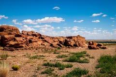 Horizontal de désert de l'Arizona Photo libre de droits