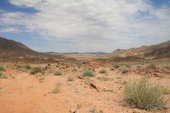 horizontal de désert rocheux Images libres de droits