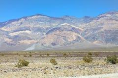Horizontal de Death Valley Photos libres de droits