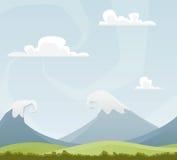 Horizontal de dessin animé Image libre de droits