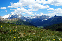 Horizontal de dolomites Photos stock