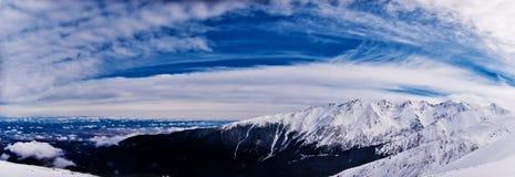 Horizontal de Fagaras Image stock
