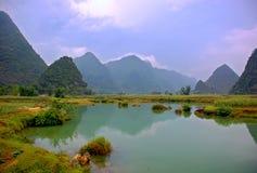 Horizontal de fleuve Images libres de droits