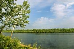 Horizontal de fleuve Image stock
