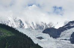 Horizontal de glacier Images libres de droits