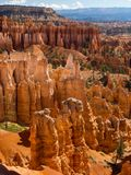 Horizontal de gorge de Bryce Image libre de droits
