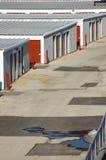 horizontal de groupe de garages Images libres de droits
